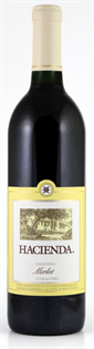 Hacienda Merlot 750ml - Case of 12